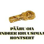 Pääru Oja ja Indrek Kruusimaa kontsert